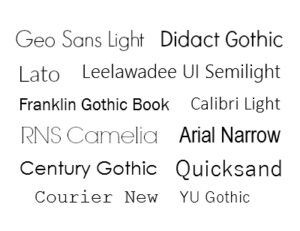 Blog Writing Tips: What Your Favorite Font Style Tells About You