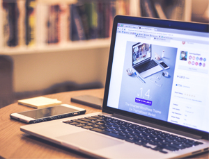 workspace of the best content writing services provider