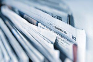 press release writing in newspaper