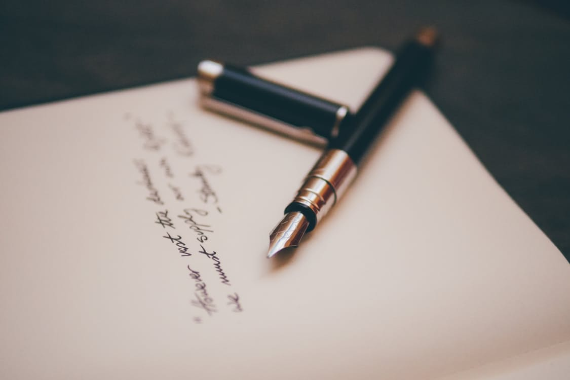 to create something meaningful: why writers write